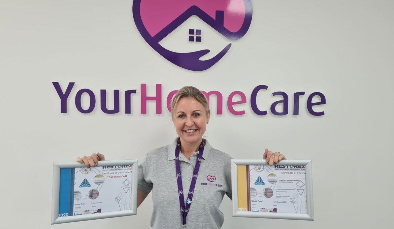 RESTORE2 Denise Certificates