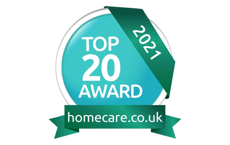 Major accolade for Your Home Care as it hits the Top 20