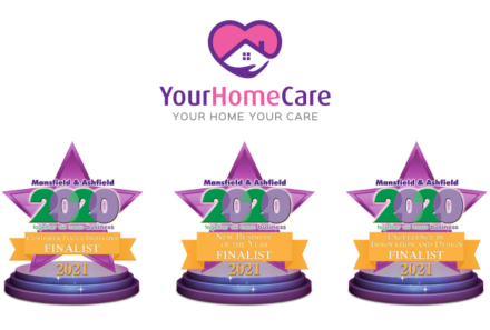 Your Home Care shortlisted for trio of awards